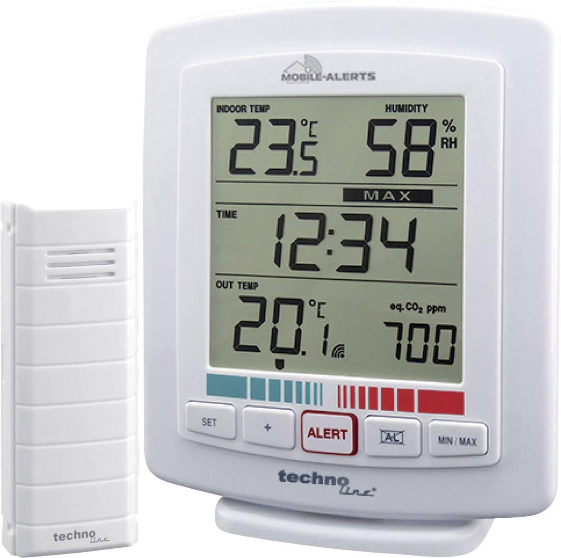 Bezdrôtový teplotný / vlhkostný / CO2 senzor Mobile Alerts WL 2000