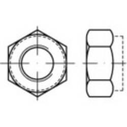 Poistné matice TOOLCRAFT 139793 M6 DIN 6925 oceľ,Zn.100 ks