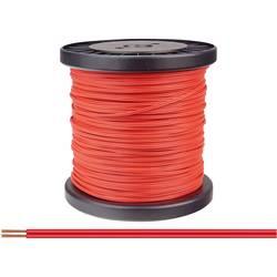 Opletenie / lanko BELI-BECO 2 x 0.14 mm², červená, 100 m