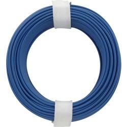 Opletenie / lanko BELI-BECO L118/10 bu 1 x 0.14 mm², vonkajší Ø 2.70 mm, 10 m, modrá