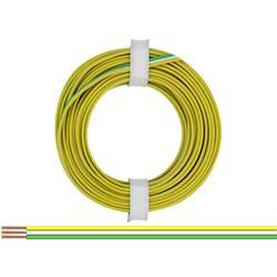 Opletenie / lanko BELI-BECO 3 x 0.14 mm², žltá, biela, zelená, 5 m