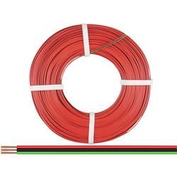 Opletenie / lanko BELI-BECO 3 x 0.14 mm², červená, zelená, čierna, 50 m