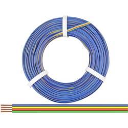 Opletenie / lanko BELI-BECO 4 x 0.14 mm², zelená, červená, žltá, modrá, 50 m