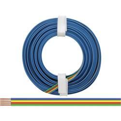 Opletenie / lanko BELI-BECO 4 x 0.14 mm², zelená, červená, žltá, modrá, 5 m