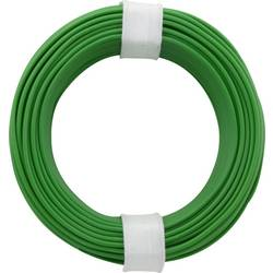 Opletenie / lanko BELI-BECO L118/10 gn 1 x 0.14 mm², vonkajší Ø 2.70 mm, 10 m, zelená