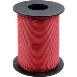 Opletenie / lanko BELI-BECO L118/100 rot 1 x 0.14 mm², vonkajší Ø 2.70 mm, 100 m, červená