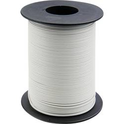 Opletenie / lanko BELI-BECO L118/100 wß 1 x 0.14 mm², vonkajší Ø 2.70 mm, 100 m, biela