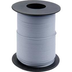 Opletenie / lanko BELI-BECO L118/100 gu 1 x 0.14 mm², vonkajší Ø 2.70 mm, 100 m, sivá