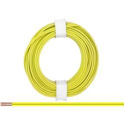 Opletenie / lanko BELI-BECO 2 x 0.14 mm², žltá, 5 m