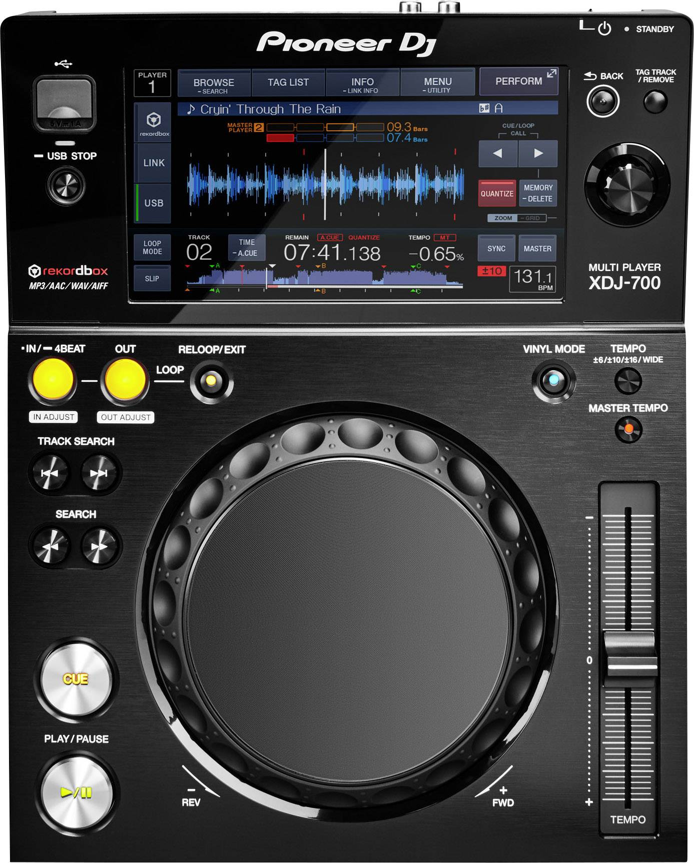 DJ CD a MP3 prehrávače