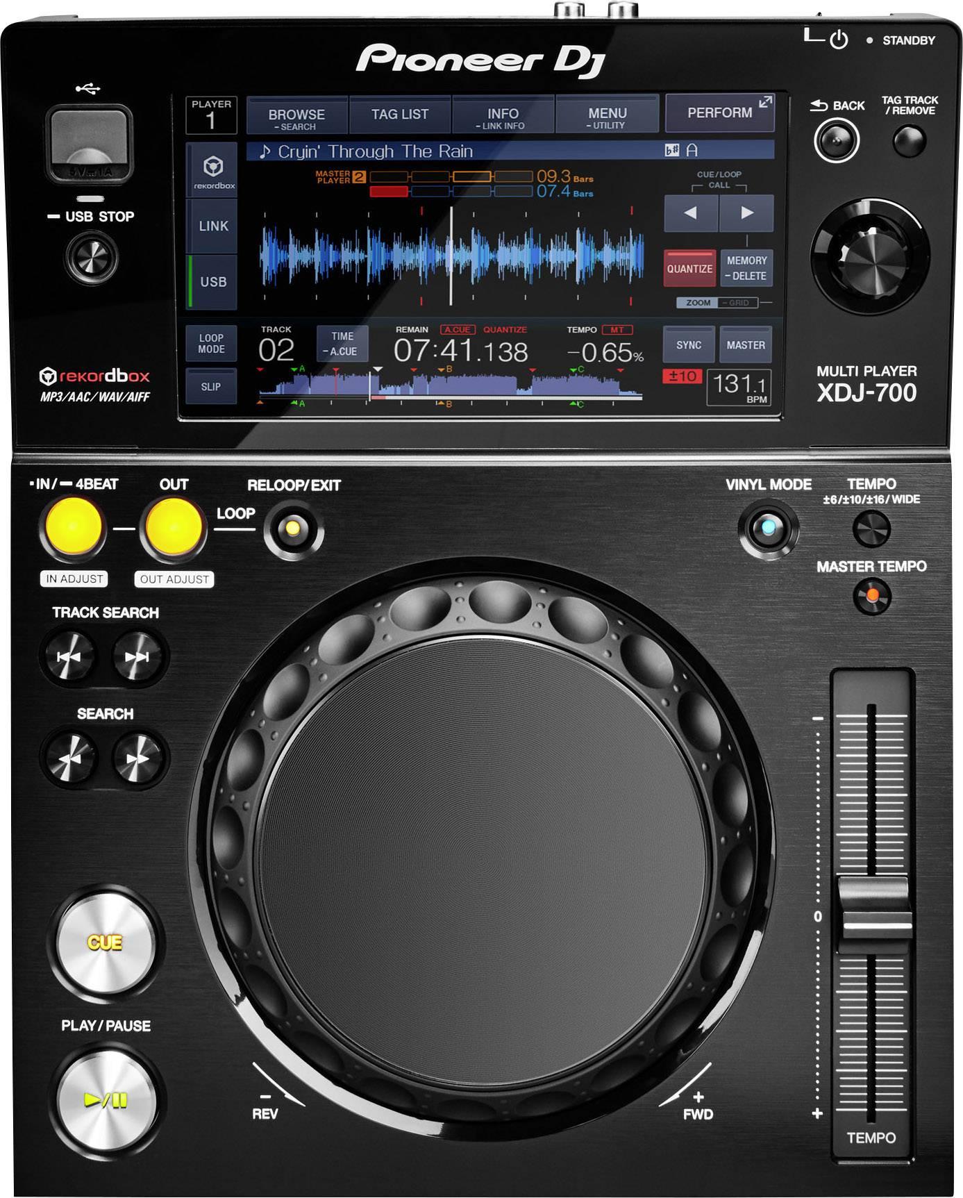 DJ single CD/MP3 přehrávače
