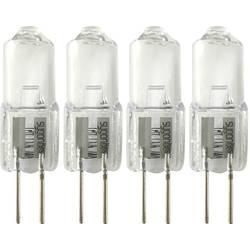 Halogénová žiarovka Sygonix 12 V, G4, 5 W, en.trieda: C (A++ - E), teplá biela, 1 sada