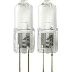 Halogénová žiarovka Sygonix 12 V, G4, 10 W, en.trieda: C (A ++ - E), teplá biela, 2 ks