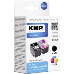 Kompatibilná sada náplní do tlačiarne KMP H135V 1719,4850, čierna, zelenomodrá, purpurová, žltá