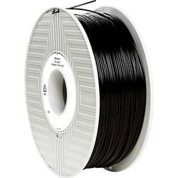 Vlákno pre 3D tlačiarne, Verbatim 55267, PLA plast , 1.75 mm, 1 kg, čierna
