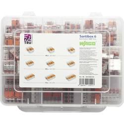 Krabicové svorkovnice v kufríku WAGO WA-741-644 na kábel s rozmerom 0.14-4 mm², tuhosť: 0.2-4 mm², 105 ks