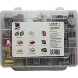Krabicové svorkovnice WAGO na kábel s rozmerom 2.5-4 mm², 120 ks
