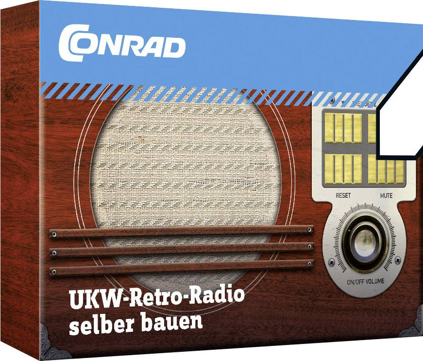 Retro rádio Conrad Components 10191