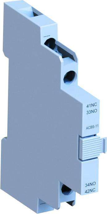 Pomocný spínač WEG ACBS11 12463909, 1 spínací, 1 rozpínací, 1 ks