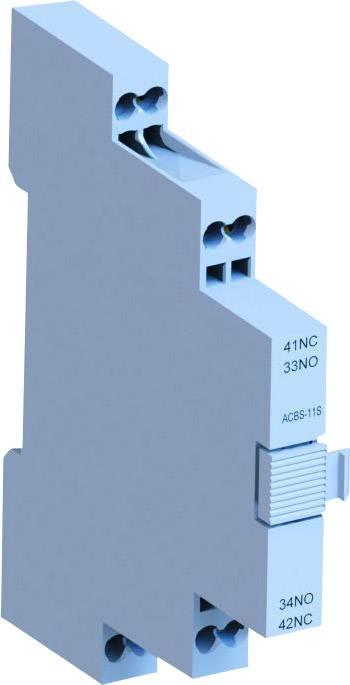 Pomocný spínač WEG ACBS11S 12463908, 1 spínací, 1 rozpínací, 10 A, 1 ks