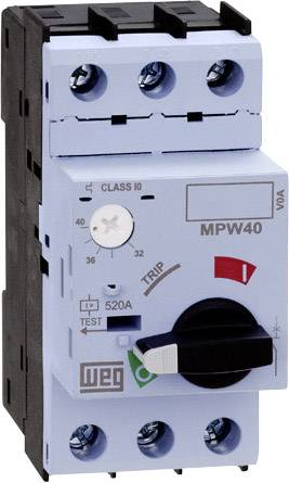 Ochranný spínač motora nastaviteľné WEG MPW40-3-U025 12428133, 25 A, 1 ks