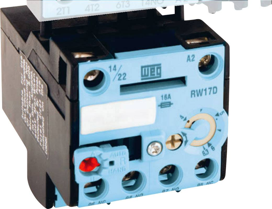 Ochranné relé motora WEG RW17-1D3-D004 12450892