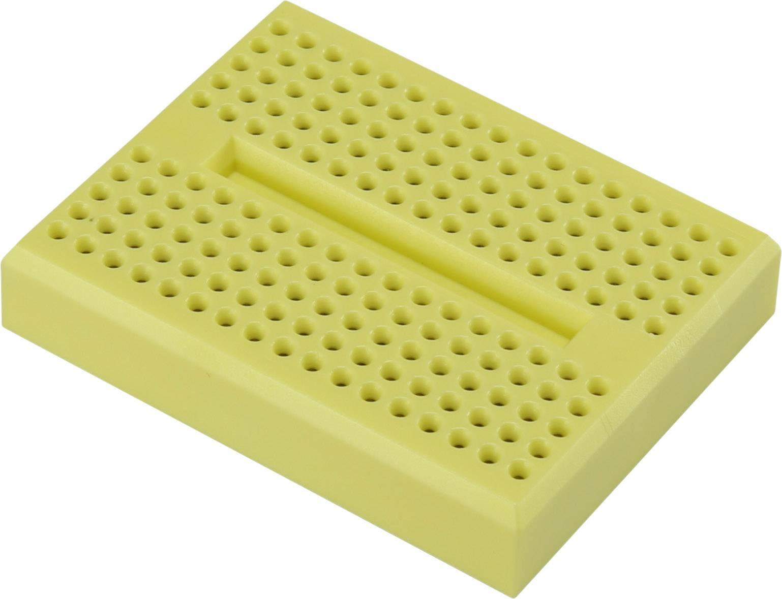 Nepájivé kontaktní pole Conrad Components 0165-4219-14-15010 žlutá, Počet pólů 170, (d x š x v) 46 x 36 x 8 mm, 1 ks