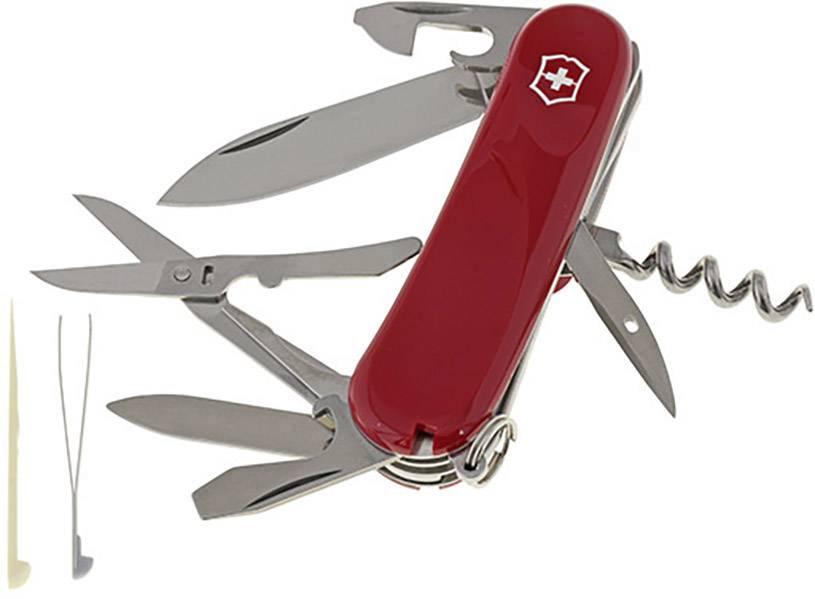 Švýcarský kapesní nožík Victorinox Evolution 2.3903.E, červená