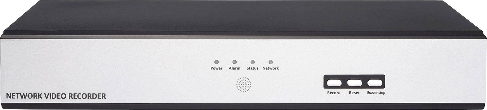 Sieťový IP videorekordér (NVR) pre bezp.kamery Digitus Professional DN-16112, 8-kanálový