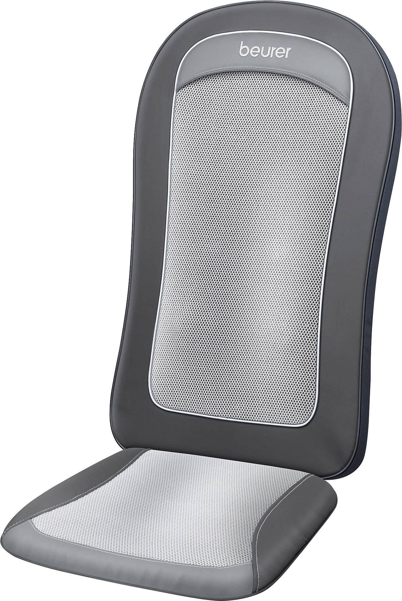 Masážny poťah sedačky Beurer MG 206, 18 W, sivá