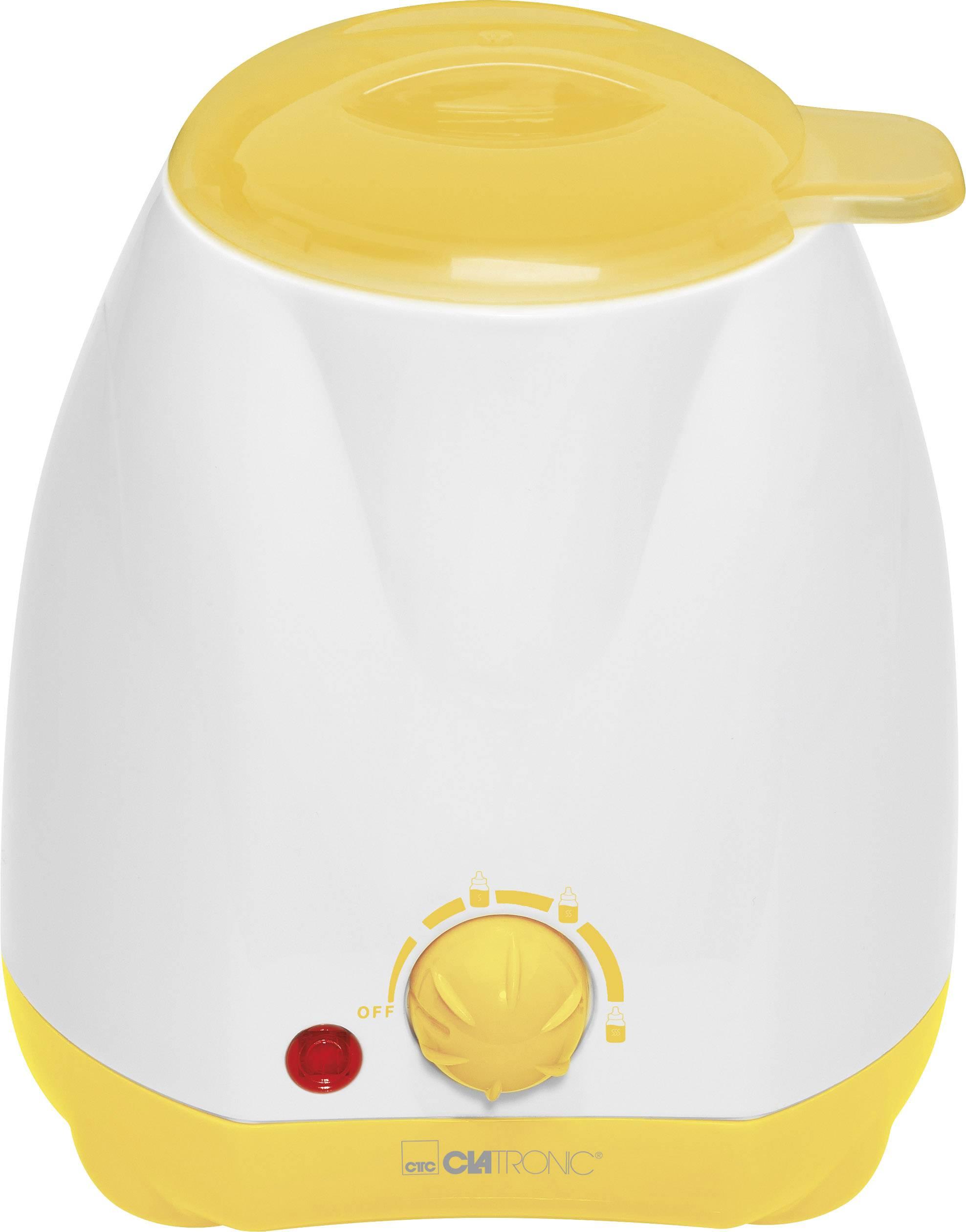 Ohřívač dětské stravy Clatronic BKW 3615 bílá, žlutá