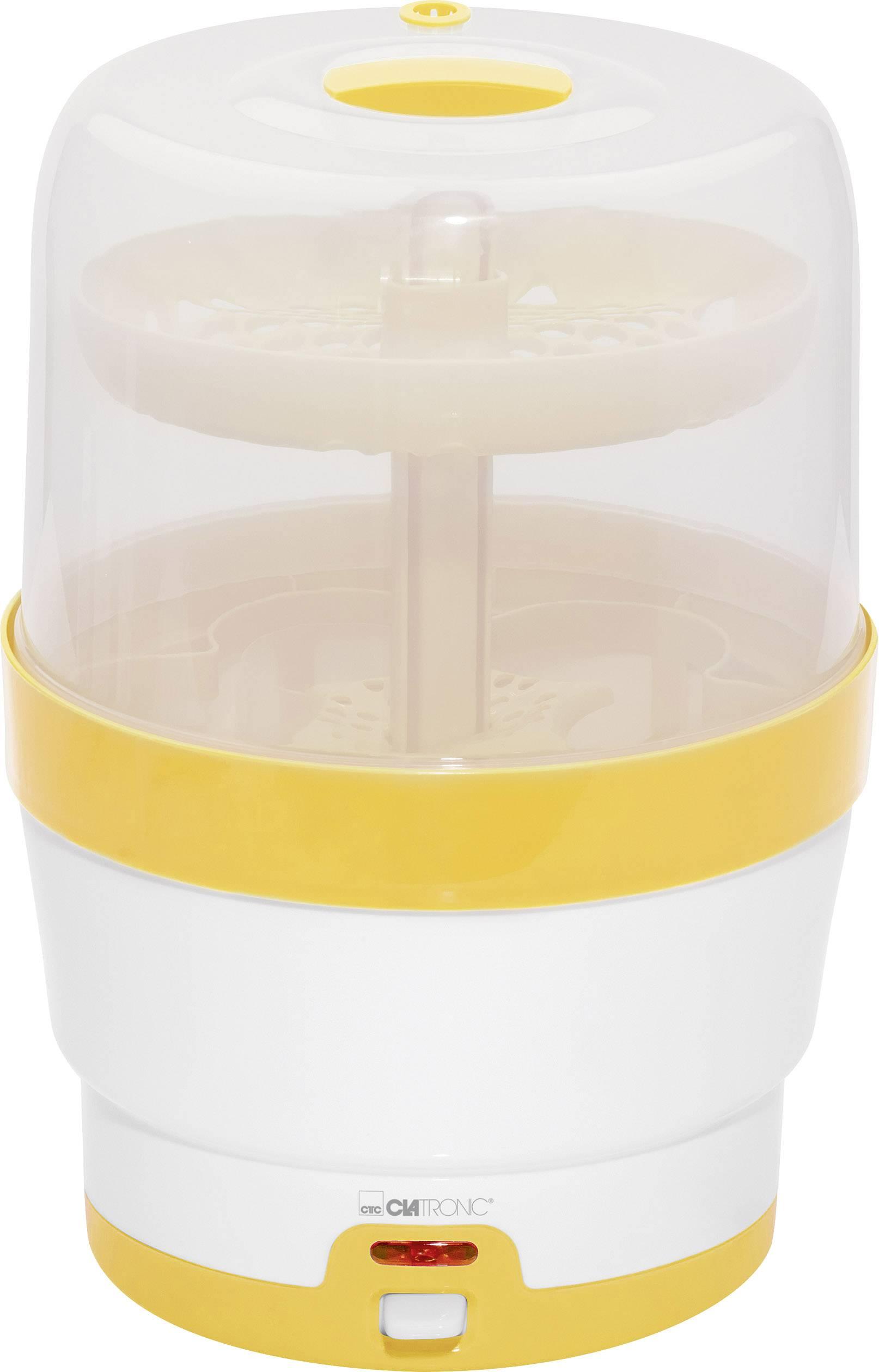 Sterilizátor láhví pro kojence Clatronic BFS 3616 bílá, žlutá