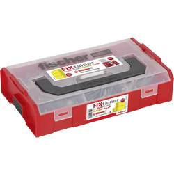 535970 FIXtainer hmoždinky DUOPOWER elektrikáře Množství 300 ks 06 Rozsah dodávky 200x hmoždinka DUOPOWER 6 x 30 mm · 20x hmoždinky DUOPOWER 8 x 40 · 60x šrouby PH 4,5 x 40 mm · 20x šrouby PH 5 x 50 mm.