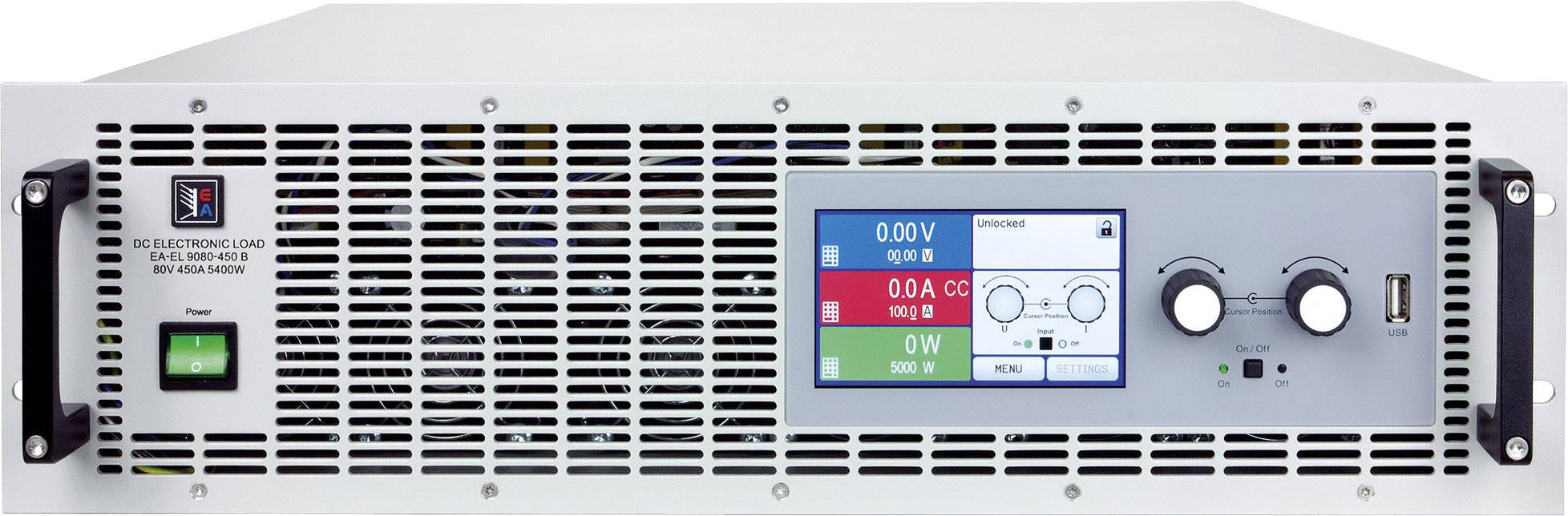 Elektronická záťaž EA Elektro-Automatik EA-EL 9080-170 B, 80 V/DC 170 A, 2400 W