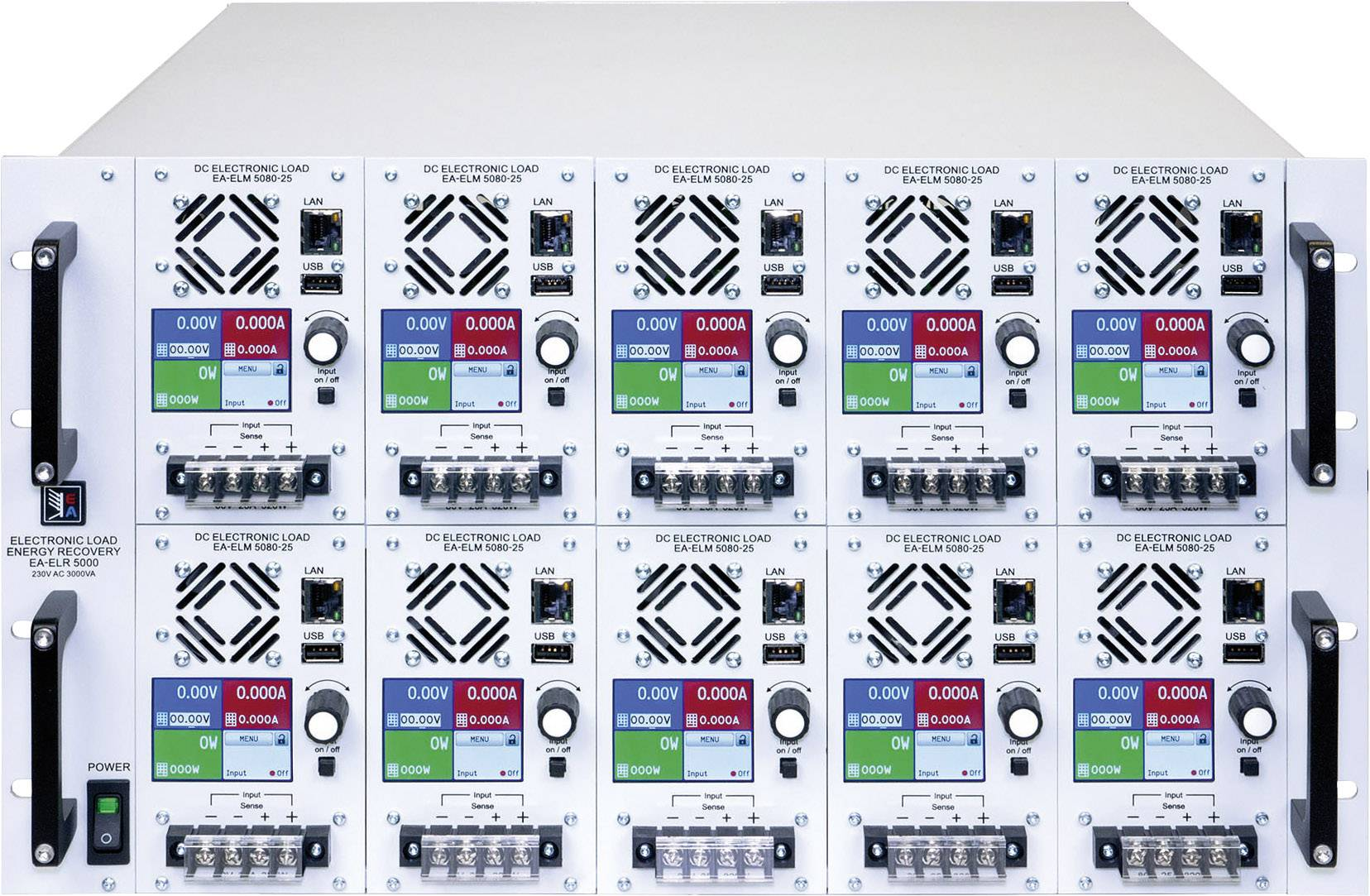 Elektronická záťaž EA Elektro-Automatik EA-ELM 5200-12, 200 V/DC 12 A, 320 W