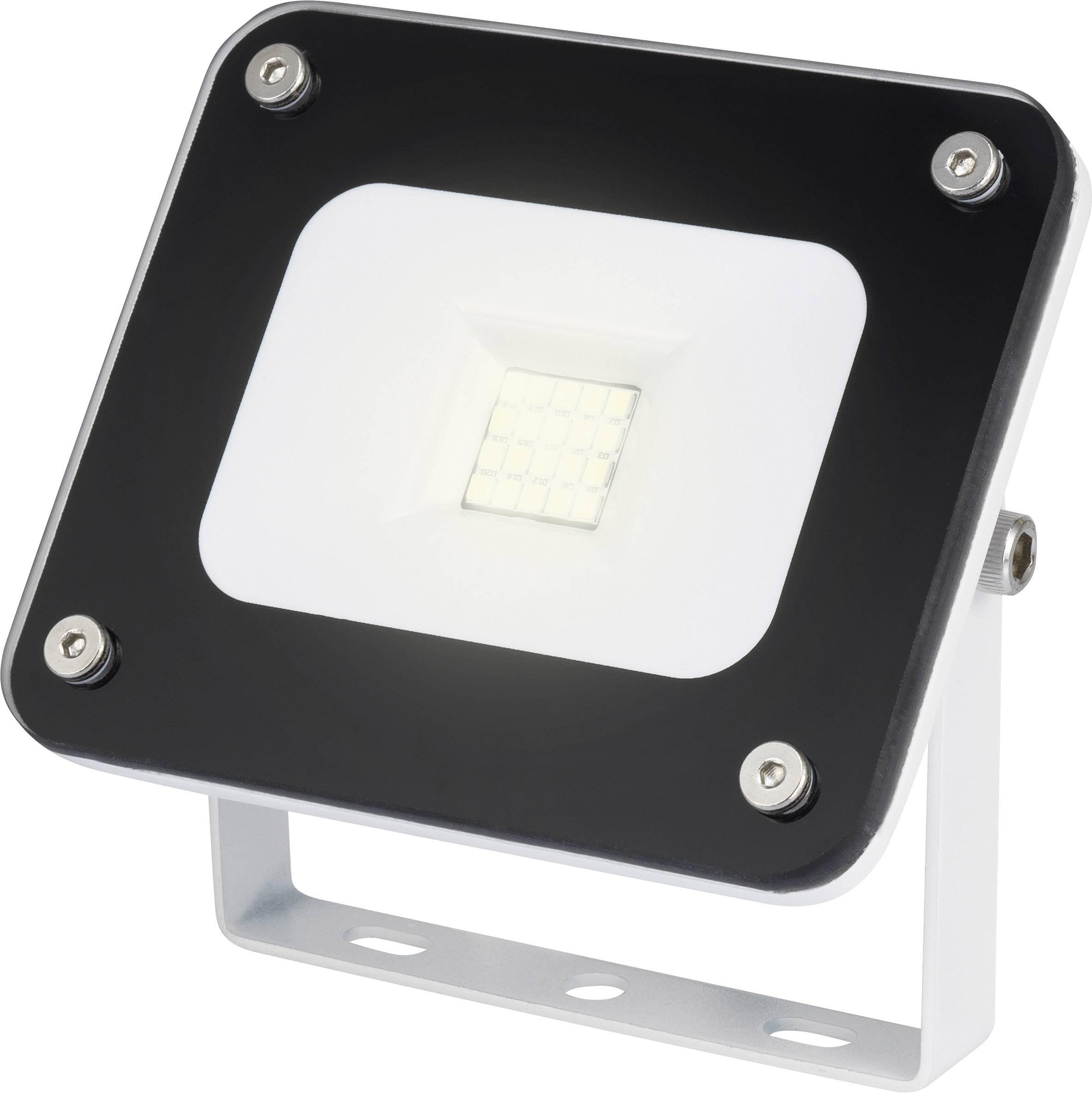 LED reflektor 10 W RENKFORCE Merida, studená biela