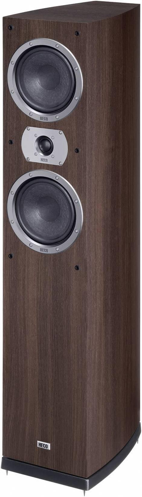 Stĺpový reproduktor HECO Victa Prime 502, 35 do 40000 Hz, 265 W, 1 ks, espresso