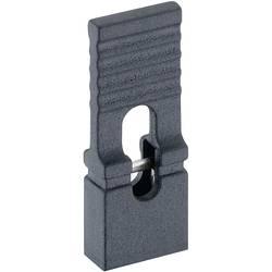 Zkratovací můstek Lumberg 4143 01 schwarz, Rastr (rozteč): 2.54 mm, černá, 1 ks