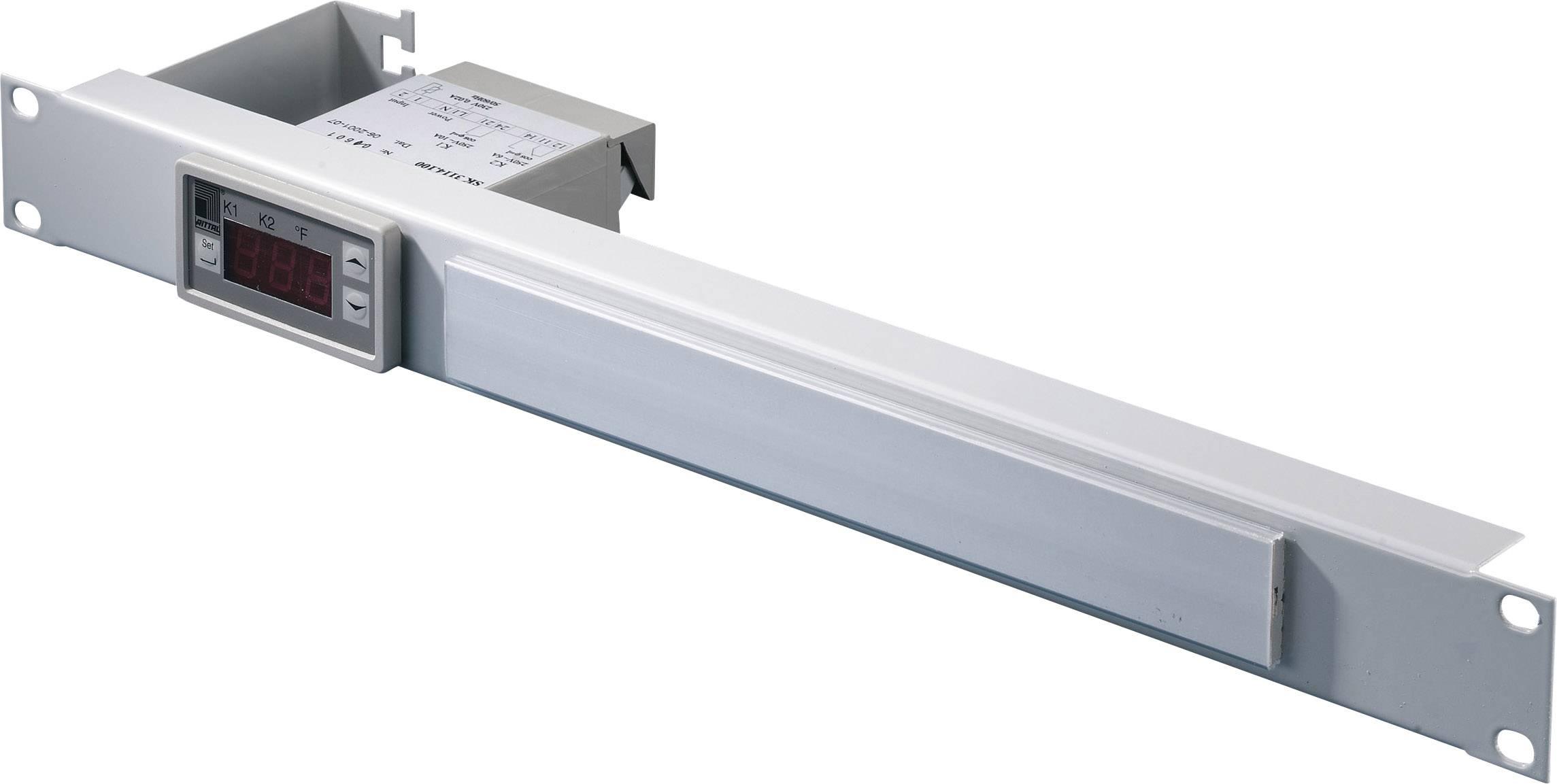 """Skříň síťové rozvodny - regulátor teploty Rittal 7109035, velikost racku (HE) 1 U, 19"""""""