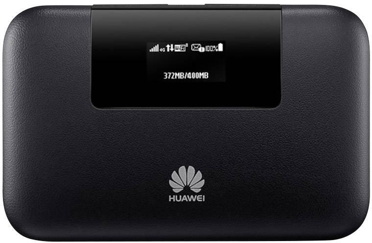 Cestovný 4G Wi-Fi hotspot do vrecka Huawei E5770 až pre 10 zariadení, s microSD slotom, čierna