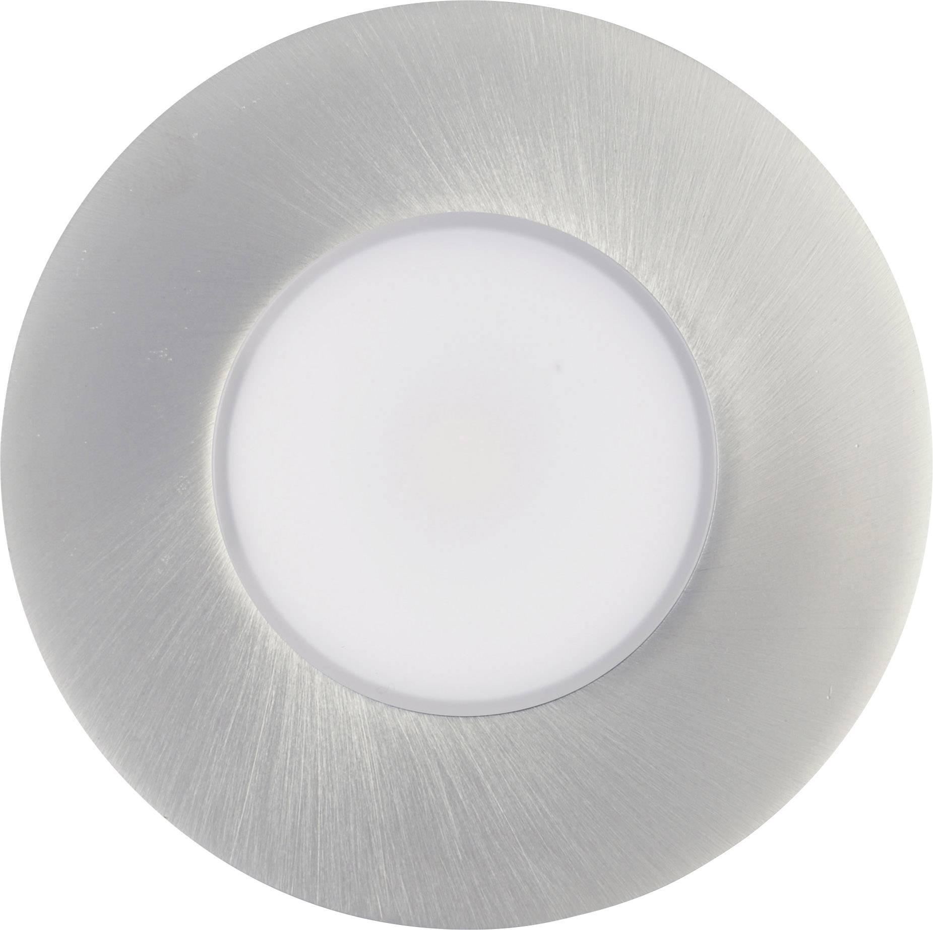 LED vstavané svetlo TLT International Prima LT1245017 5.5 W teplá biela hliník