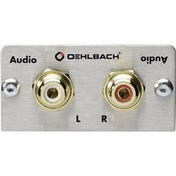 Oehlbach PRO IN Stereo Cinch (R/L) multimediální využití s přepínáním pohlaví