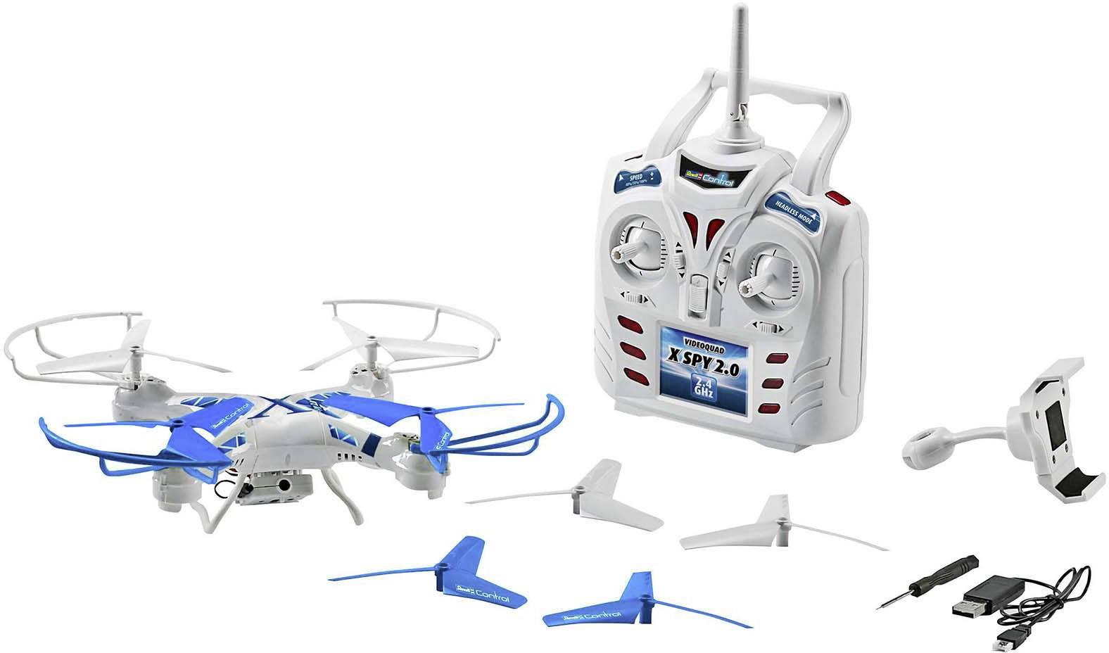 Dron Revell Control X-Spy 2.0, RtF
