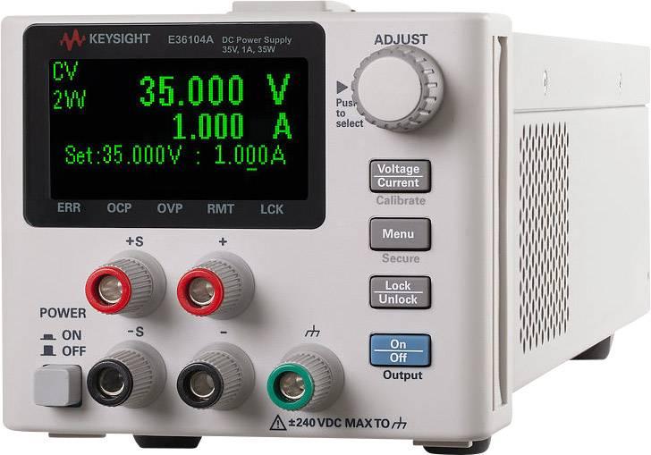 Laboratorní zdroj Keysight Technologies E36106A, 100 V, 40 W