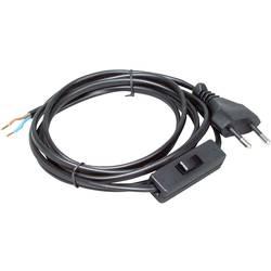 Šňůrový spínač Kopp 140305098, 2.5 A, 250 V/AC, černá, 1x vyp/zap, 1 ks