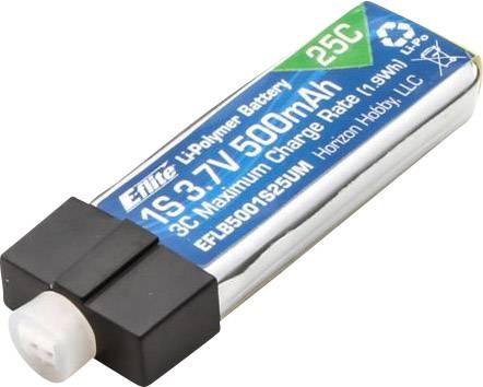 Akupack Li-Pol Blade EFLB5001S25UM, 3.7 V, 500 mAh