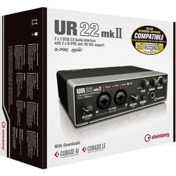 Audio rozhraní Steinberg UR22 MKII vč. softwaru