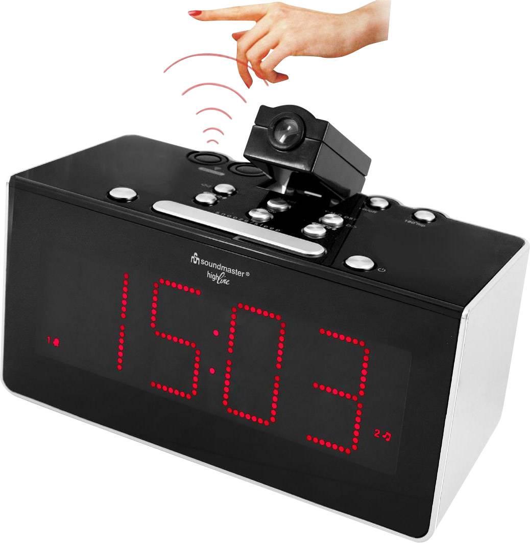 FM radiobudík SoundMaster FUR6005, FM, černá