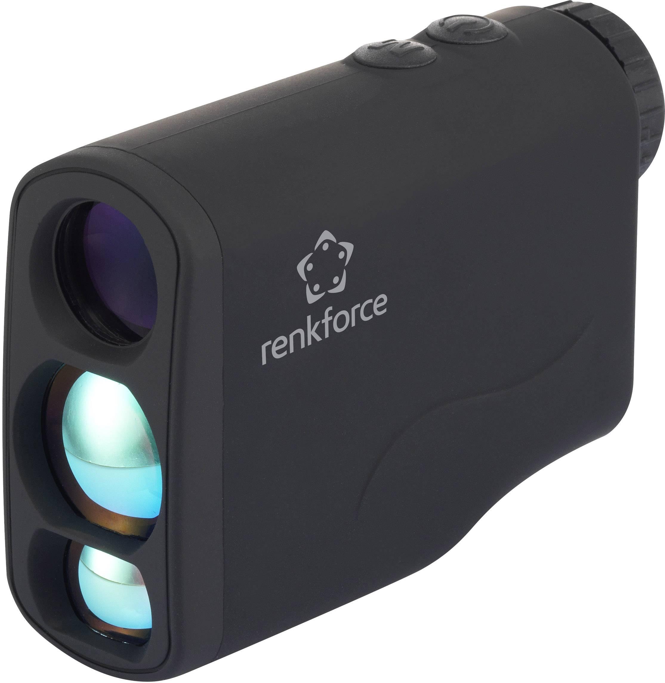 Merač vzdialenosti Renkforce Distanz- & Geschwindigkeitsmesser, 6 x 21 mm, 5 do 1000 m