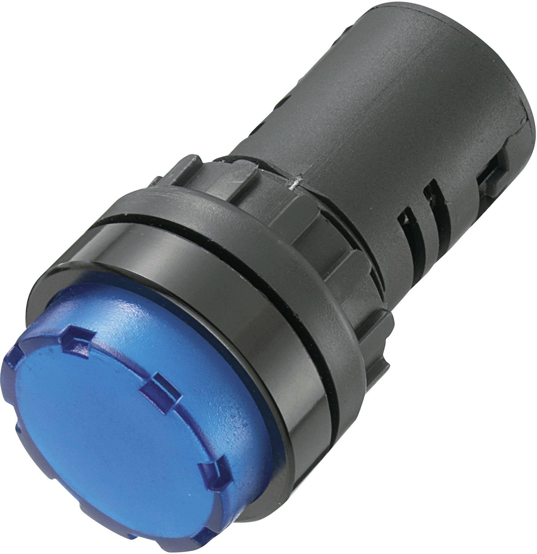 LED signálka AD16-22ES/230V/B, 230 V/AC, modrá